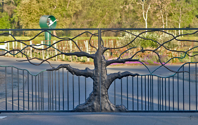 Entrance to Duckhorn Vineyards, St. Helena, CA