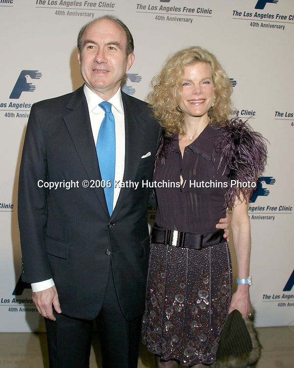 Viacom President.Los Angeles Free Clinic Gala.Beverly Hilton Hotel.Century City, CA.November 20, 2006.©2006 Kathy Hutchins / Hutchins Photo....