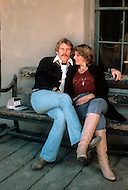 "Los Angeles, California - May 1979. Picture taken of Nick Nolte with his wife Sharon Haddad at his home, as he prepares for his role as Neal Cassady in ""Heartbeat"". Nick Nolte (b. February 8, 1941) is an American Actor, who gained attention for his performance in Rich Man, Poor Man, in 1976, and who is now best known for his role in The Prince of Tides, where he won a Golden Globe Award."