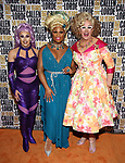 Jan Sport, Peppermint and Doris Dear during the GLOW: 50 Years of Callen-Lorde at Union Park on May 31, 2019  in New York City.