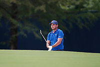 Jason Day (AUS) plays the 8th hole during the 1st round of the 100th PGA Championship at Bellerive Country Club, St. Louis, Missouri, USA. 8/9/2018.<br /> Picture: Golffile.ie | Brian Spurlock<br /> <br /> All photo usage must carry mandatory copyright credit (© Golffile | Brian Spurlock)