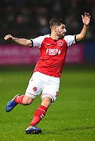 Fleetwood Town's Ched Evans in action<br /> <br /> Photographer Richard Martin-Roberts/CameraSport<br /> <br /> The EFL Sky Bet League One - Fleetwood Town v Doncaster Rovers - Wednesday 26th December 2018 - Highbury Stadium - Fleetwood<br /> <br /> World Copyright &not;&copy; 2018 CameraSport. All rights reserved. 43 Linden Ave. Countesthorpe. Leicester. England. LE8 5PG - Tel: +44 (0) 116 277 4147 - admin@camerasport.com - www.camerasport.com