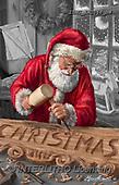 Marcello, CHRISTMAS SANTA, SNOWMAN, WEIHNACHTSMÄNNER, SCHNEEMÄNNER, PAPÁ NOEL, MUÑECOS DE NIEVE, paintings+++++,ITMCXM2068/BW,#X#