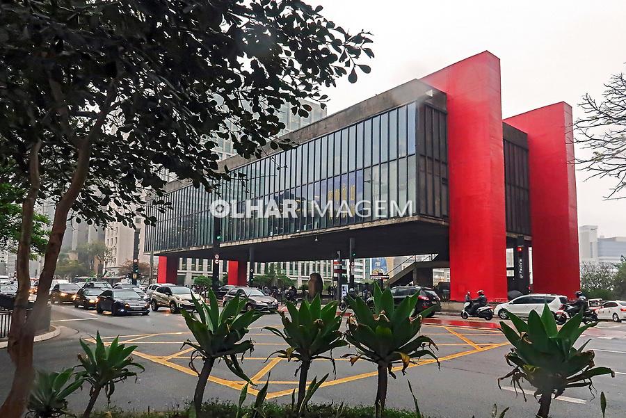 Museu de Arte de Sao Paulo, MASP, avenida Paulista, Sao Paulo. 2019. Foto Juca Martins