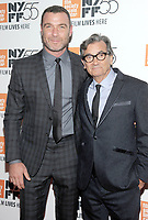 NEW YORK, NY - OCTOBER 11: Liev Schreiber and  Director Griffin Dunne attend the 55th NYFF World Premiere of &quot;Joan Didion: The Center Will Not Hold &quot; at Alice Tully Hall on October 11, 2017 in New York City. <br /> CAP/MPI/JP<br /> &copy;JP/MPI/Capital Pictures