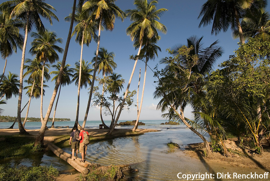 Dominikanische Republik, Strand Playa Bonita bei Las Terrenas auf der Samana-Halbinsel