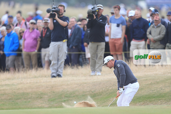 Hunter MAHAN (USA) during round 4 of  The 142th Open Championship Muirfield, Gullane, East Lothian, Scotland 21/7/2013<br /> Picture Fran Caffrey www.golffile.ie: