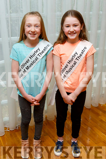Evelyn McElligott and Molly Costello members of the Tralee Musical Society at their 'Strictly Young Dancing' fundraiser launch in the Ballyroe Heights Hotel on Saturday which is being held on February 9th in Ballyroe Hotel.