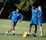 08.08.18 Rangers training: Lassana Coulibaly