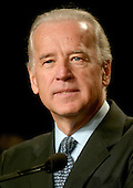 Washington, D.C. - February 3, 2007 -- United States Senator Joseph R. Biden, Jr. (Democrat of Delaware), a candidate for the Democratic Party's  2008 Presidential nomination, speaks at the 2007 Democratic National Committee Winter Meeting in Washington, D.C. on Saturday, February 3, 2007..Credit: Ron Sachs / CNP