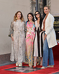 Lucy Liu Honored With Star On The Hollywood Walk Of Fame on May 01, 2019 in Hollywood, California.<br /> Lucy Liu 032 Drew Barrymore, Demi Moore, Cameron Diaz