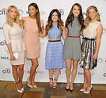 "Cast of Little Liars at the 2014 PaleyFest ""Pretty Little Liars"" held at The Dolby Theatre in Los Angeles on March 16, 2014."