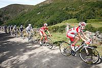 (R to L) Daniel Moreno, Joaquin Purito Rodriguez and Alejandro Valverde during the stage of La Vuelta 2012 between Palas de Rei and Puerto de Ancares.September 1,2012. (ALTERPHOTOS/Paola Otero) NortePhoto.com<br /> <br /> **CREDITO*OBLIGATORIO** <br /> *No*Venta*A*Terceros*<br /> *No*Sale*So*third*<br /> *** No*Se*Permite*Hacer*Archivo**<br /> *No*Sale*So*third*