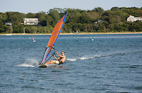 wind-surfing, salt pond, Vineyard Haven, Marthas Vineyard, MA