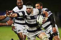Auckland lock Kurtis Haiu. Air New Zealand Cup rugby match - Taranaki v Auckland at Yarrows Stadium, New Plymouth, New Zealand. Friday 9 October 2009. Photo: Dave Lintott / lintottphoto.co.nz