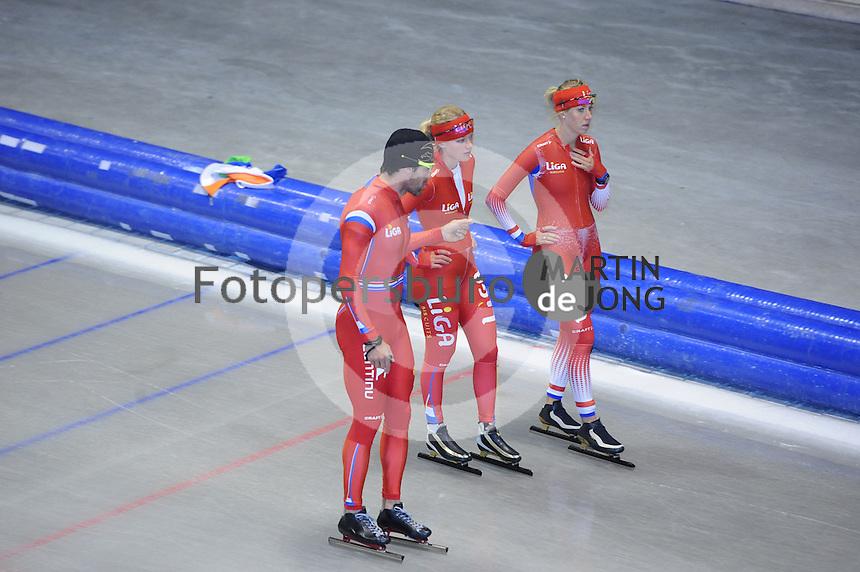 SCHAATSEN: IJSSTADION THIALF: 25-06-2013, Training zomerijs, ©foto Martin de Jong