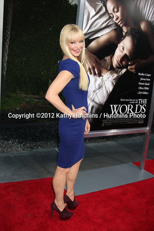 "LOS ANGELES - SEP 4:  Charlotte Ross arrives at ""The Words"" Premiere at ArcLight Cinemas on September 4, 2012 in Los Angeles, CA"