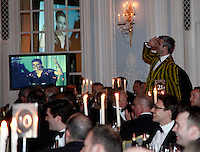 Photo: Richard Lane/Richard Lane Photography. Richard Birkett and John Hart Testimonial Dinner at the Savoy Hotel, London. 22/03/2012. Photo: Richard Lane/Richard Lane Photography. Richard Birkett and John Hart Testimonial Dinner at the Savoy Hotel, London. 22/03/2012.