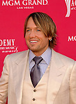 Keith Urban at the 2008 ACM Awards at MGM Grand in Las Vegas, May 18 2008.