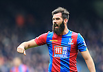 Crystal Palace's Joe Ledley in action<br /> <br /> - English Premier League - Crystal Palace vs Liverpool  - Selhurst Park - London - England - 6th March 2016 - Pic David Klein/Sportimage