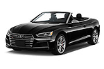 2018 Audi S5 Prestige 4wd 2 Door Convertible angular front stock photos of front three quarter view