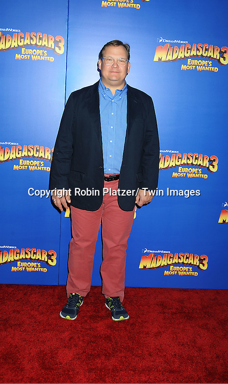 "Andy Richter attends the ""Madagascar 3:  Europe's Most Wanted""  New York Premiere on June 7, 2012 at The Ziegfeld Theatre in New York City."