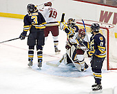 Rob LaLonde, Brock Bradford, Jim Healey, Nathan Gerbe, Jeff Royston - Boston College defeated Merrimack College 3-0 with Tim Filangieri's first two collegiate goals on November 26, 2005 at Kelley Rink/Conte Forum in Chestnut Hill, MA.