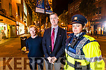Gardai are warning about bogus collectors who are claiming to be representing Tralee Rugby club, pictured from left are: Mags Hayes, Tralee Rugby Club, Tom Quilter, Chairman, Tralee Rugby Club and Sgt. Eileen O'Sullivan, Tralee Garda Station.