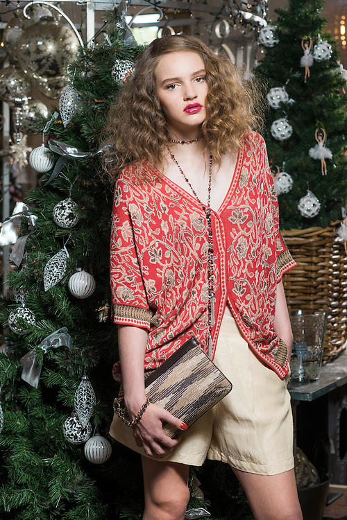 Fashion with Mirella , Christmas Gift Guide . Location One Rundle . Model , Hannah Clarke fromTanya Powel . Photo: Nick Clayton