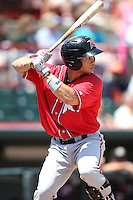 Richmond Flying Squirrels Juan Perez #10 during a game against the Erie Seawolves at Jerry Uht Park on July 27, 2011 in Erie, Pennsylvania.  Richmond defeated Erie 4-2.  (Mike Janes/Four Seam Images)