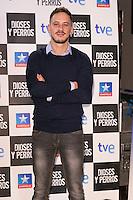"""Elio Gonzalez attends the """"DIOSES Y PERROS """" Movie presentation at Kinepolis Cinema in Madrid, Spain. October 6, 2014. (ALTERPHOTOS/Carlos Dafonte) /nortephoto.com"""