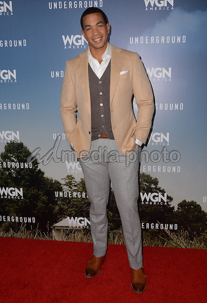 "08 January  - Pasadena, Ca - Alano Miller. Arrivals for the WGN America Winter TCA Tour ""Underground"" held at The Langham Hotel. Photo Credit: Birdie Thompson/AdMedia"