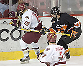 Brock Bradford, Max Cousins - Boston College defeated Princeton University 5-1 on Saturday, December 31, 2005 at Magness Arena in Denver, Colorado to win the Denver Cup.  It was the first meeting between the two teams since the Hockey East conference began play.