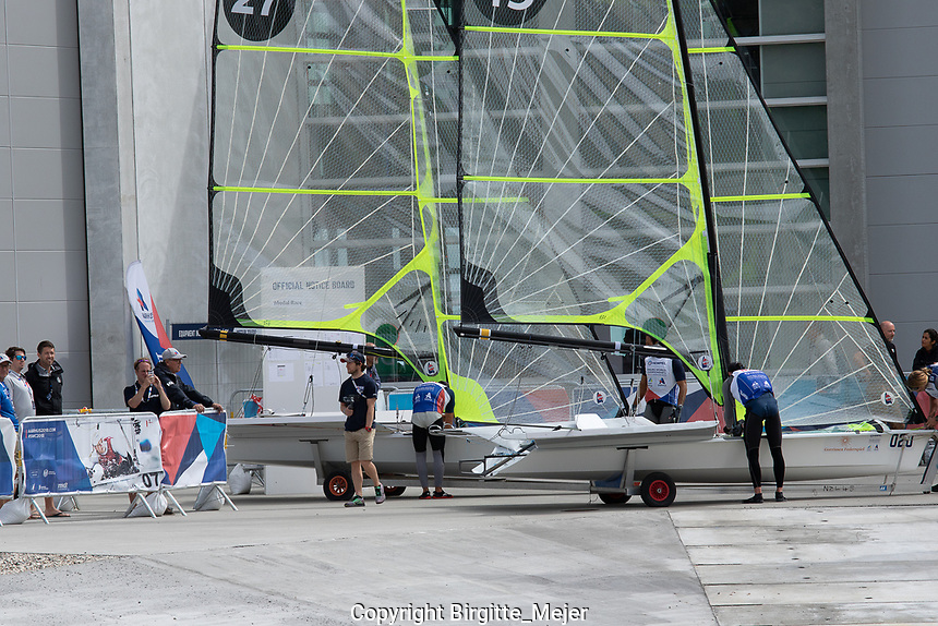 Aarhus, Denmark is hosting the 2018 Hempel Sailing World Championships from 30 July to 12 August 2018. More than 1,400 sailors from 85 nations are racing across ten Olympic sailing disciplines as well as Men's and Women's Kiteboarding. <br /> 40% of Tokyo 2020 Olympic Sailing Competition places will be awarded in Aarhus as well as 12 World Championship medals.