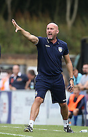 Colchester United Manager John McGreal during the Sky Bet League 2 match between Wycombe Wanderers and Colchester United at Adams Park, High Wycombe, England on 27 August 2016. Photo by Andy Rowland.