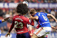Aridane (defender; CA Osasuna) during the Spanish la League soccer match between CA Osasuna and Real Oviedo at Sadar stadium, in Pamplona, Spain, on Saturday, <br /> May 12, 2018.