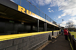 Rushall Olympic 1 Workingon 0, 17/02/2018. Dales Lane, Northern Premier League Premier Division. The covered enclosure at Dales Lane, home of Rushall Olympic. Photo by Paul Thompson.