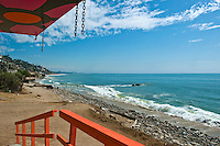 Topanga South, Lifeguard Tower, PCH, Ocean Waves, Socal Beach, Lifeguard Stations, CA, Geometric, shapes, Lifeguard Towers,  Summer of Color exhibit, The flower, beauty, core design, elements, environment, symbol of joy, universal, youth, Seaside City, South Bay, Southern California