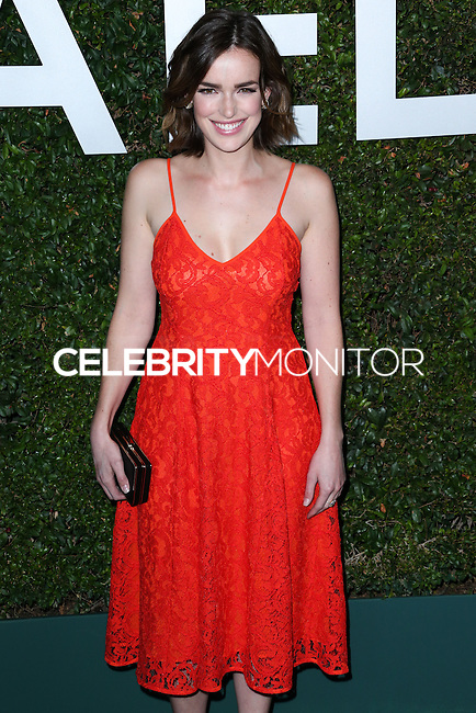 BEVERLY HILLS, CA, USA - OCTOBER 02: Elizabeth Henstridge arrives at Michael Kors Launch Of Claiborne Swanson Franks's 'Young Hollywood' Book held at a Private Residence on October 2, 2014 in Beverly Hills, California, United States. (Photo by Xavier Collin/Celebrity Monitor)