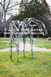 A gem of the Midwest Art world, the Leigh Yawkey Woodson Art Museum is a community endeavor, first endowed by the Woodson family described at the www.lywam.com.  Deborah Butterfield, Bronze Horse exhibited and museum purchase from &quot;Mind &amp; Beast: Contemporary Artists and the Animal Kingdom. Wausau, Wisconsin: Leigh Yawkey Woodson Art<br />
