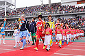 Shinobu Ono and team group (Leonessa), .MARCH 24, 2012 - Football / Soccer : .Pre-season match between INAC Kobe Leonessa and Sky Blue FC at Okinawa Comprehensive Athletic Park in okinawa, Japan. (Photo by AFLO)