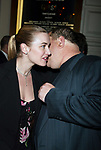 Kate Winslet and Harvey Weinstein at the Opening Night of the Broadway Musical Revival of GYPSY at the Shubert Theatre, New York City. <br />