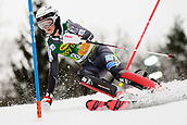 2nd February 2019, Maribor, Slovenia;  Kristin Lysdahl of Norway in action during the Audi FIS Alpine Ski World Cup Women's Slalom Golden Fox on February 2, 2019 in Maribor, Slovenia