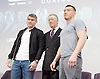 Frank Warren Boxing Promoter and BT Sport Press Conference at BT Tower London Great Britain <br /> <br /> 23rd January 2017 <br /> <br /> Frank Warren introduces Boxers who will be taking part in tournaments during 2017. <br /> Liam Smith (left) is a British professional boxer. He held the WBO light-middleweight title from 2015 to 2016, having previously held the Commonwealth light-middleweight title from 2012 to 2013, and the British light-middleweight title from 2013 to 2015.<br /> <br /> <br /> <br /> <br /> Photograph by Elliott Franks <br /> Image licensed to Elliott Franks Photography Services