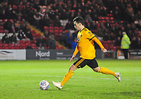 Wolverhampton Wanderers U21's Pedro Goncalves scores from the penalty spot<br />