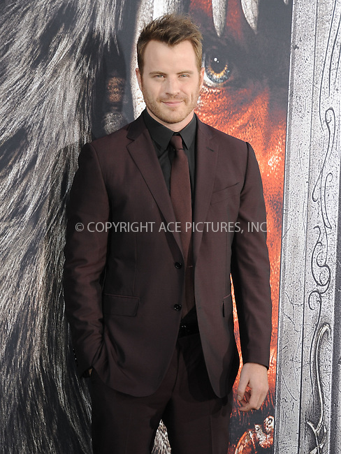 WWW.ACEPIXS.COM<br /> <br /> June 6 2016, LA<br /> <br /> Rob Kazinsky arrives at the premiere of Universal Pictures' 'Warcraft' at the TCL Chinese Theatre IMAX on June 6, 2016 in Hollywood, California. <br /> <br /> <br /> By Line: Peter West/ACE Pictures<br /> <br /> <br /> ACE Pictures, Inc.<br /> tel: 646 769 0430<br /> Email: info@acepixs.com<br /> www.acepixs.com