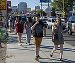 The Midtown Art Walk on Thursday afternoon in Reno, June 28, 2018.