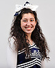 Erika Mastorakis of Hewlett poses for a portrait during the Newsday All-Long Island cheerleading photo shoot at company headquarters on Tuesday, Mar. 15, 2016.