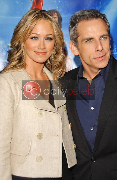 Christine Taylor and Ben Stiller<br />at the Los Angeles Premiere of &quot;Blades of Glory&quot;. Mann's Chinese Theater, Hollywood, CA. 03-28-07<br />Dave Edwards/DailyCeleb.com 818-249-4998