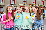 Enjoying  the Ballyheigue Festival Parade on Sunday were Sophie  McAuliffe, Aoife Casey, Emily Coleman and Sophie Coleman